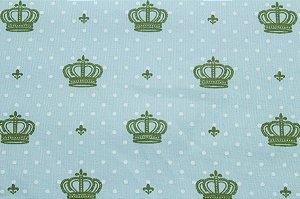 Tricoline Coroa Pequena Verde ( 0,50 m x 1,40 m )