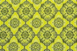Tricoline Mini Bandana Amarelo ( 0,50 m x 1,40 m )