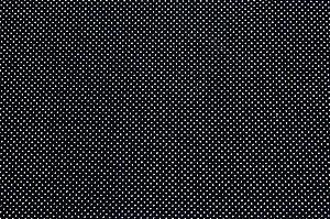 Tricoline Micropoá Branco fundo Preto ( 0,50 m x 1,40 m )