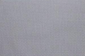 Tricoline Micropoá Branco fundo Cinza ( 0,50 m x 1,40 m )