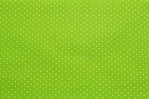 Tricoline Poá Branco fundo Verde Pistache ( 0,50 m x 1,40 m )