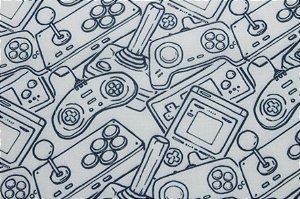 Tricoline MISTO DIGITAL Controle Games ( 0,50 m x 1,50 m )
