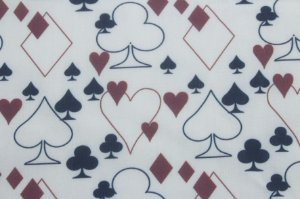 Tricoline MISTO DIGITAL Naipes Cartas de Baralho ( 0,50 m x 1,50 m )