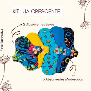 Kit Lunar - Lua Crescente