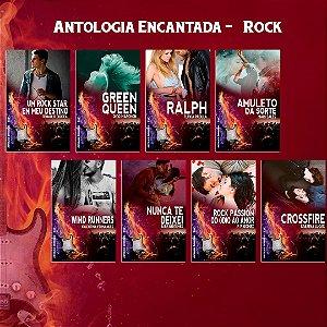 8 livretos - Antologia Encantada Rock