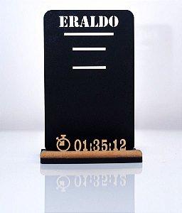 Porta Medalha Individual Personalizado em madeira mdf
