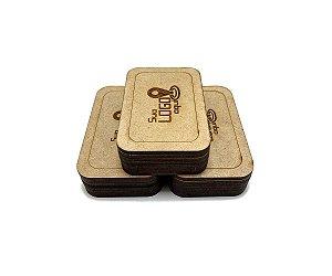 Case Porta Pen Drive Personalizado Kit 10 Unidades Cru
