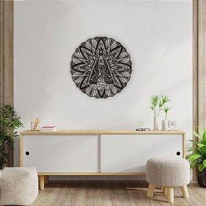 Mandala Quadro Decorativo Nossa Senhora Aparecida