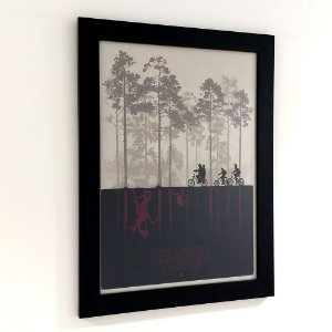 Quadro com moldura Stranger Things