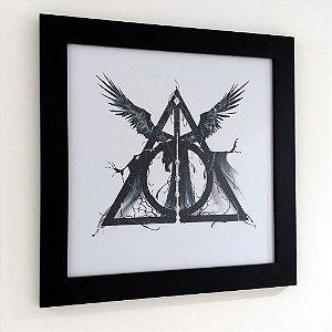Quadro com moldura Harry Potter - Relíquias da Morte