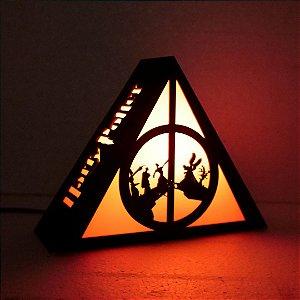 Luminária Harry Potter – Três Irmãos