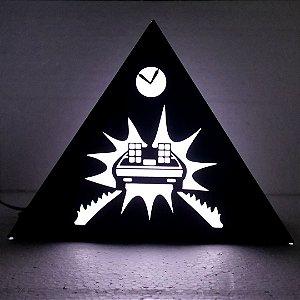 Luminária De Volta Para o Futuro