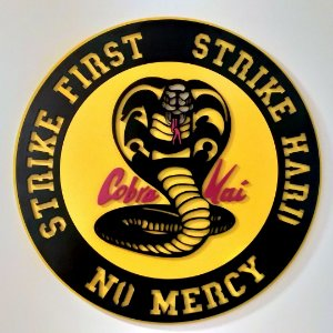 Quadro Cobra Kai