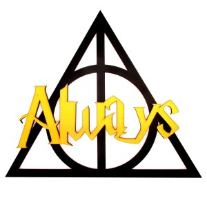 Quadro Harry Potter Always