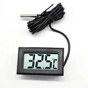 Termômetro Digital Lcd Aquário Freezer Chocadeira Estufa
