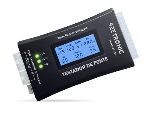 Testador de Fonte ATX Display Digital Beetronic BT-012