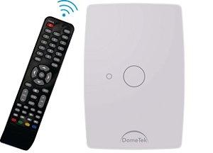 Interruptor Touch Ir 1 Via Botão Pad Sense Paralelo Three Way - Dometek