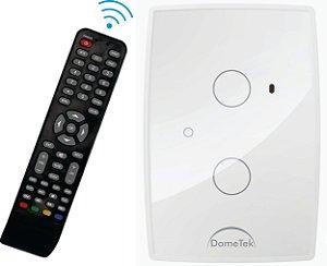 Interruptor Touch Ir 2 Vias Botões Pads Diamond Paralelo Three Way - Dometek