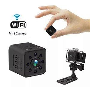 Mini Micro Câmera Espiã Sq23 Full Hd 1080p Wifi Prova D'agua