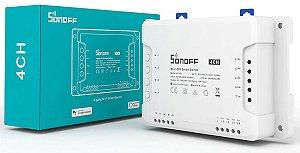 Sonoff 4ch Canais R3 Interruptor Wifi Automação Residencial