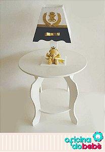 Mesa para Abajur Infantil - Branca - 01