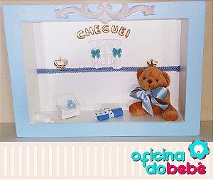 Quadro Enfeite de Porta Maternidade Bebê - 301514