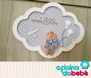 Quadro Enfeite de Porta Maternidade Bebê - 301521
