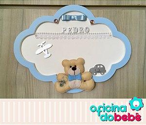 Quadro Enfeite de Porta Maternidade Bebê - 301522