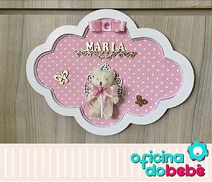 Quadro Enfeite de Porta Maternidade Bebê - 301524
