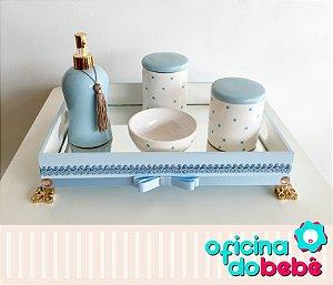 Bandeja Espelhada com Kit de Porcelana - 02