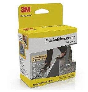 Fita Antiderrapante Cinza 3m Safety-walk 50mm X 5m