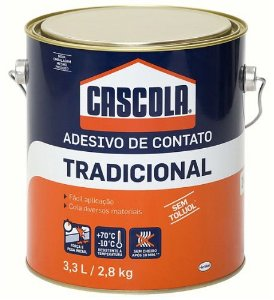 Cola De Contato Tradicional Cascola 2,8kg