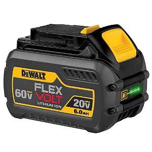 Bateria 60V Li-ion FlexVolt Max 6Ah DCB606 Dewalt