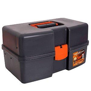 Caixa de Ferramentas Plastica c/3 bandejas fixas 96004 Presto