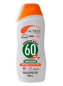 Protetor Solar Fator 60 Com Repelente Nutriex 120ml