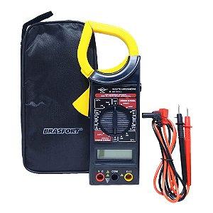 Alicate Amperimetro com Estojo 8559 Brasfort