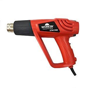 Soprador Térmico Ar Quente 2 Estágios Stw 1500w Worker 220V