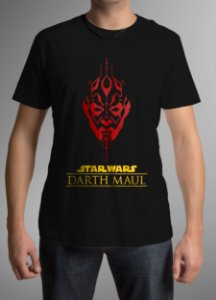 Camiseta Masculina - Dart Maul