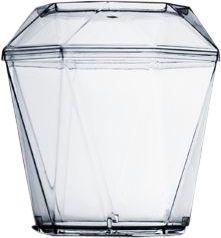 Copo Acrílico Diamante com Tampa 180ml