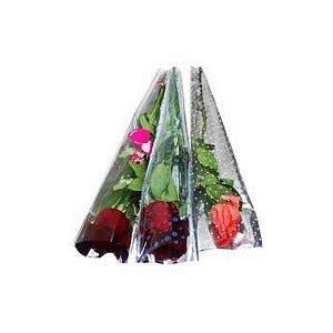 Embalagem Para Flor Unitária