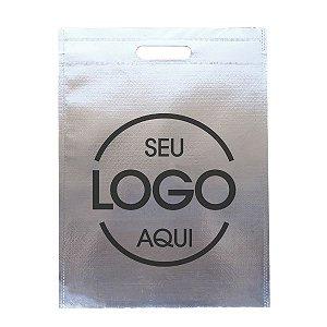 Sacola Boca Vazada Metalizada Personalizada
