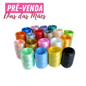 Pré-Venda | Fitilho Colorido Decorativo 5mm X 150m