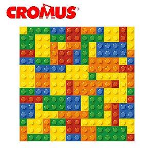 Saco de Presente CROMUS - Blocos Coloridos