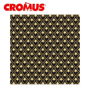 Saco de Presente CROMUS - Jour Preto/Dourado