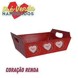 Pré-Venda Namorados | Cesta Paper Decorada (5un.)