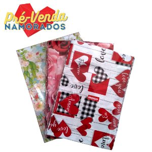 Pré-Venda Namorados | Sacos de Presente CROMUS 35x55 Feminino - 50un.