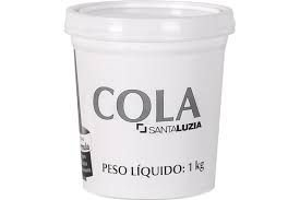 Cola Santa Luzia 1 kg - para Fixação de Rodapé