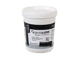 Massa Premium Santa Luzia 90 gramas preta - usado para calafetar entre as barras
