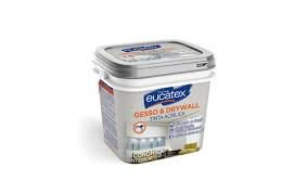 Eucatex Tinta PVA direto no Gesso e Drywall Branco balde 18 litros