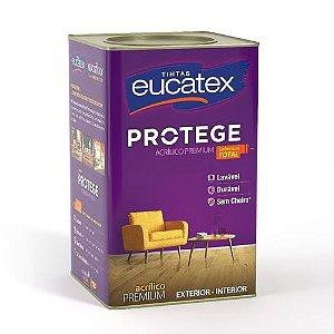 Eucatex Acrílico Fosco Protege Premium 18 L Branco rende até 400m² por demão